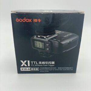 Godox X1R-N 2.4G Wireless Receiver Only For X1N Trigger Transmitter Nikon DLSR