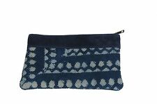 Women Handbag Indigo Rugs Made Toiletry Travel Bath Pouch Purse