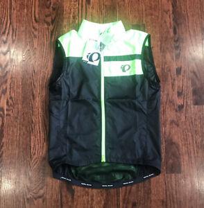 Pearl Izumi 11131823 Men's Elite Escape Barrier Vest Full Zip Fit Fabric Cycling