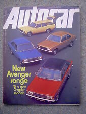 Autocar (18 Sep 1976) Toyota Celica, Blydenstein Chevette, Frazer Nash, TVR, BMW