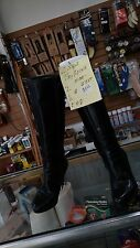 Women Boots size 6 M Black, Tall, Zippers on Side