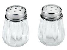 Mini SALZSTREUER Set Metaltex Glas Edelstahl PFEFFERSTREUER Salz Pfeffer Streuer