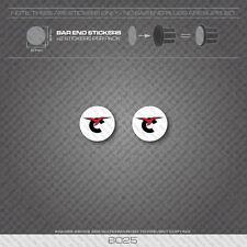 6025 - Concorde Bicycle Handlebar Bar End Plug Stickers - Decals
