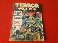 Vintage Monster Horror Comic Book/Magazine Terror Tales Sept. 1970          G57