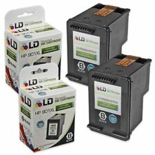 LD © Reman Replacement Ink Cartridges for HP CC654AN HP 901XL HY Black 2pk