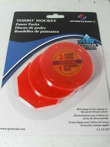 NEW! Sealed Sportcraft Turbo Hockey Power Pucks
