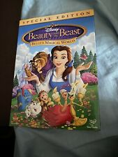 Disney Beauty & The Beast Belle's Magical World Brand New Special Edition DVD