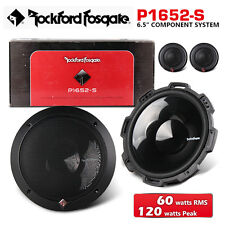 "NEW ROCKFORD FOSGATE P1652-S 6.5"" Punch Series Component System"