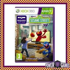 Kinect 123 Sesame Street Season 1(Microsoft Xbox 360) Brand New