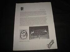 Jamelle Elliott Uconn Basketball Signed Personal Letter Authentic Autograph Jb9