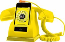 ICE Phone Smartphone RETRO Handset Phone Accessori regalo gommato giallo