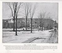 1897 Victoriano Estampado ~ Mcgill University Montreal Canadá ~ + Descriptive