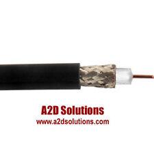 500 Ft. Belden 1855A RG59 Sub-Mini 23 AWG Solid Analog & Digital Coax  - BLACK