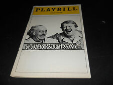 FEB. 1975 PLAYBILL,  COLD STORAGE, THE LYCEUM THEATRE, MARTIN BALSAM