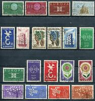 LOT TIMBRE FRANCE EUROPA OBL