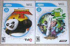 Nintendo Wii Lot - U DRAW Kung Fu Panda 2 (New) U DRAW Dood's Big Adventure NEW