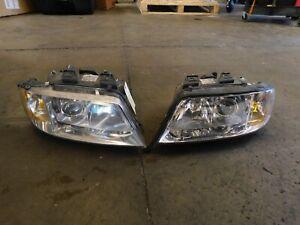 98-01 Audi C5 A6 OEM Driver & Passenger Side Xenon Headlight Set 4B0941003ATKT1