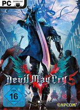 Devil May Cry 5 Key - PC Steam Standard Game Key [Action Spiel Code] [DE/EU]