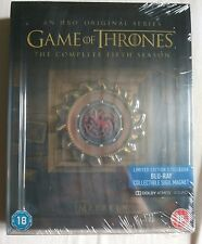 Game Of Thrones Season 5 Blu-ray Steelbook *NEW & SEALED* READ DESCRIPTION