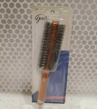 VINTAGE Goody Hair 100% BOAR BRISTLE BRUSH SMOOTH Blow Styler Full Size Wood 8""
