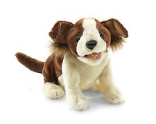 Lucky Dog Hand Puppet with Moveable Mouth & Forelegs, Folkmanis MPN 2980, 3 & Up