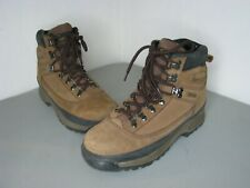 Browning Boots Mens 8 D Hunting Hiking Brown Leather Gore-tex Vibram Lace Up
