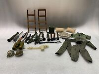 Lot of Military Accessories, Clothes, Weapons 21st Century Toys 90's Lot 3
