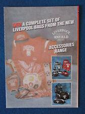 Liverpool FC Merchandise Catalogue - 1994/95 - 4 pages