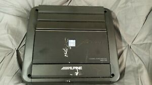 Alpine Mrx-f35 Amplifier 4 channel. With end caps! 170 watts. FREE SHIPPING!