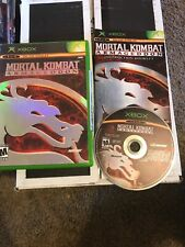 Mortal Kombat: Armageddon (Microsoft Xbox, 2006) COMPLETE CIB TESTED