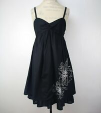 LIberty Of London for Target Black Floral Embroidered Dress Size 8 Party