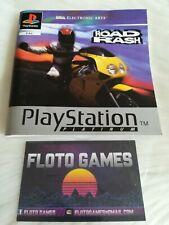 Notice de Road Rash Platinum pour Sony Playstation 1 PS1 - Floto Games