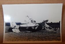 WW2 Aircrash photograph Hawker Audax India 1941 original photo 6x4 inch photo 2