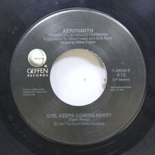 Rock 45 Aerosmith - Girl Keeps Coming Apart / Angel On Geffen Records