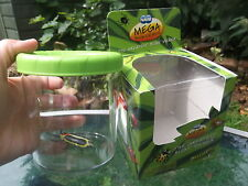 NEW  Large BUG VIEWER magnifying insects pot - dual water creatures / minibeasts