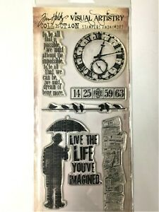 Tim Holtz  Life's Possibilities Clear Stamp Set Stampers Anonymous NIP