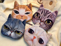 Cat Pet Fluffy Quality Toy Novelty Cute Purse Wallet Cosmetic Pouch Coins Bag