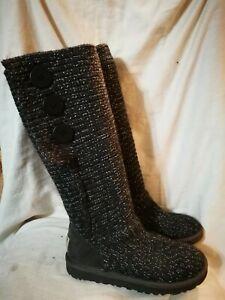 Ugg Australia grey cardy boots size 4.5