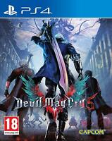 DEVIL MAY CRY V 5 PS4 FISICO CD EN CASTELLANO ESPAÑOL NUEVO PRECINTADO PS4