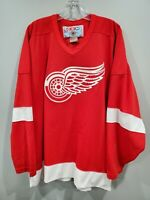 Vintage CCM NHL Detroit Red Wings #22 Red Jersey Mens 2XL Sewn