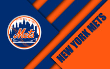 "MLB Baseball NEW YORK METS  Mancave Decor Fridge Magnet Decor 2.5"" x 3.5""  #7"