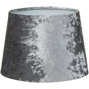 """Luxe Crushed Velvet Effect Dual Purpose Lampshade Lightshade Shade 9"""""""