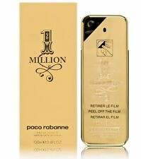 1 ONE MILLION * PACO RABANNE  Cologne for Men 3.3 / 3.4 oz EDT NEW IN BOX SEALED