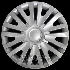 "15"" Set of 4 Wheel Covers Full Rim Snap On Hub Caps fit R15 Tire & Steel Wheels"