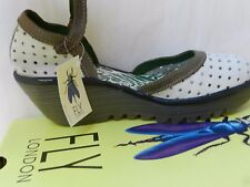 Fly London Ying Chaussures Femme 41 Sandales Escarpins Compensé Salomés UK8 Neuf