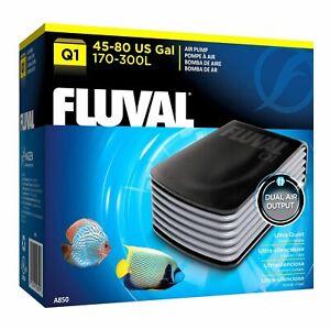 Fluval Q1 Air Pump Dual Outlet 170-300LPH Aquarium Fish Tank Filter FREE FREIGHT