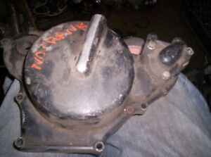 83 Honda CR 80 used Right Clutch Cover  5/13