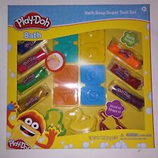 Play Doh Soap Super Tool Set Mold and Shape Cutters Bath Time Fun Kids Toys