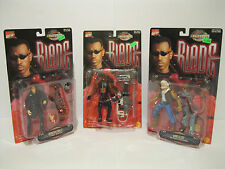 Brand New Marvel ToyBiz Blade Movie Figure Lot of 3 Blade Deacon Frost Whistler