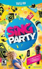SiNG Party with Wii U Microphone (WII U) NEW & SEALED